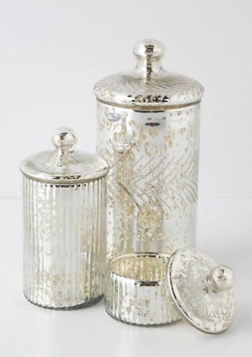 Anthropologie Mercury Gl Vintage Apothecary Jars