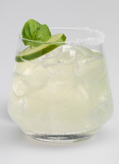 Basil Lime Margarita - Roca Patrón Silver - St. Patrick's Day Cocktail Recipes