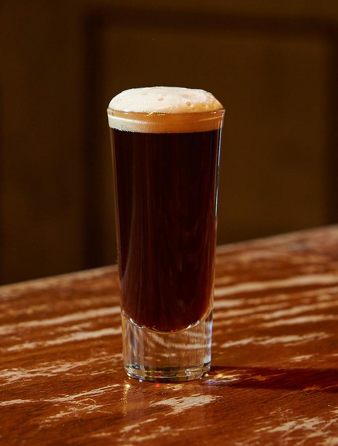 Jägermeister Rudi - St. Patrick's Day Cocktail Recipes - Jagermeister and Guinness cocktail recipe