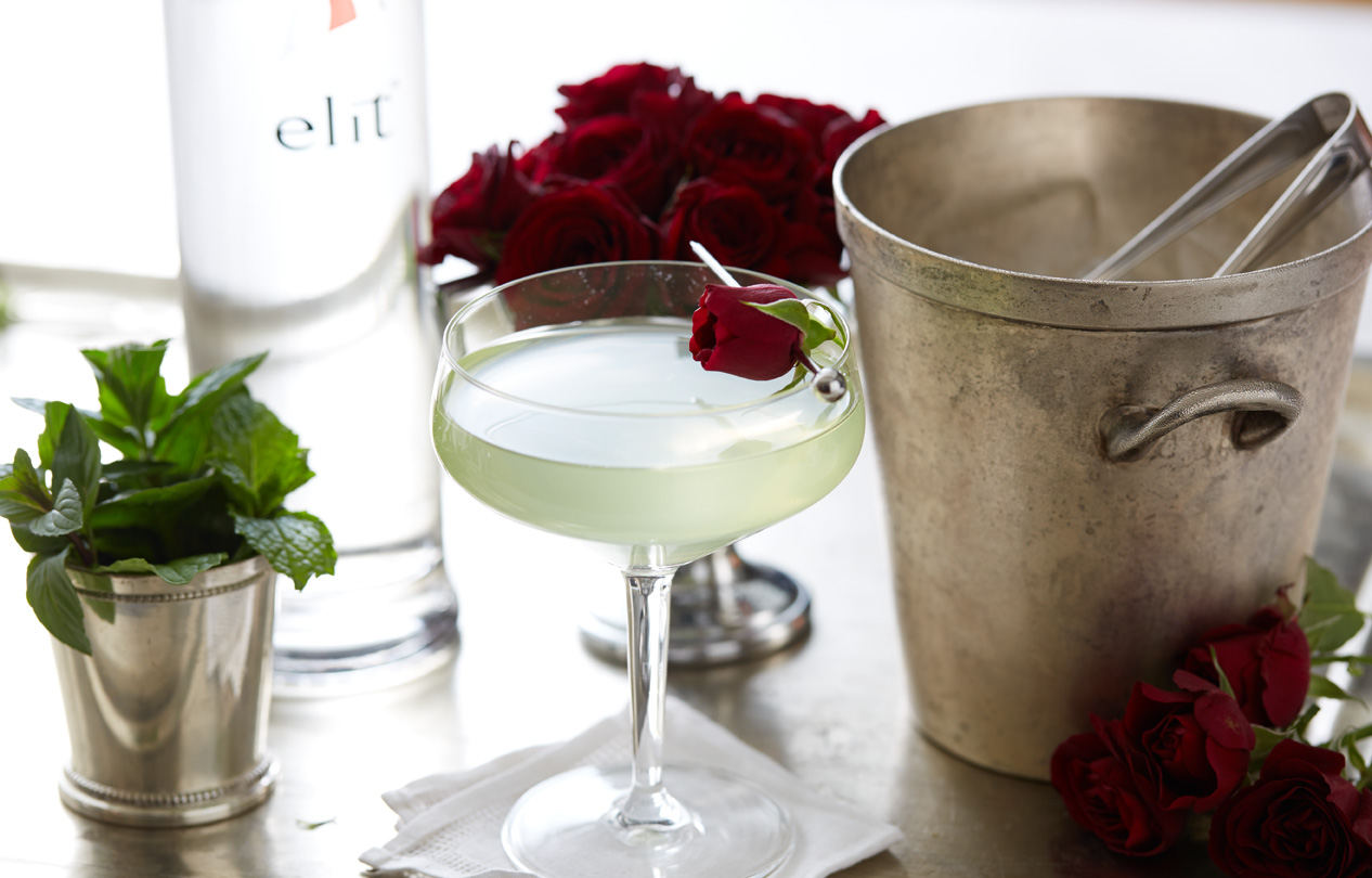 Lucky One cocktail - ELIT by Stolichnaya - St. Patrick's Day Cocktail Recipes