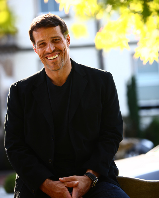Tony Robbins: Living Large in Palm Beach