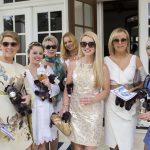 Carol Poor, Kaitlin Poor, Mary DeFilio, Hannah Bloom, Corinne Poor, Sondra Fine, Lauren King