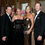 Augusto and Kimberly Villa, Jennifer and Chris Harris