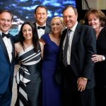 Lee and Shari Fox, John and Dianne Couris, Joe and Maggie Taddeo