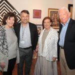 Harriet and Stanley Rabinowitz, Robin May, Israel Moleiro