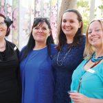 Monique Brown, Shawna Paul, Ashley Williams, Lisa Pickersgill