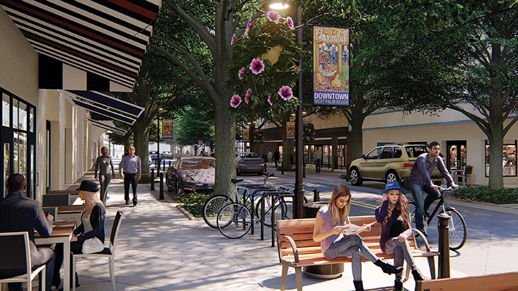 Clematis Street Is Getting A Facelift Regarded As Downtown West Palm Beach S Main Thoroughfare Home To Dozens Of Businesses And Restaurants