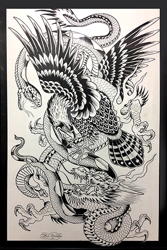 New Tattoo Exhibit Opens At The Lighthouse Artcenter Palm