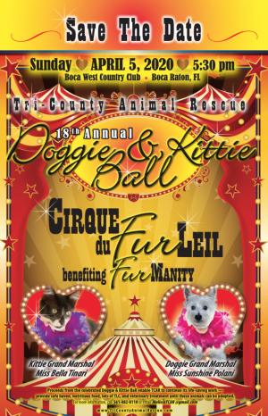 Tri County Animal Rescue 18th Annual Doggie & Kittie Ball