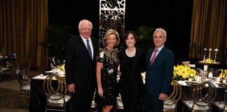 Gala Chairs Bob and Christine Stiller, Irene and Jim Karp (photo credit: CAPEHART)