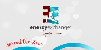 Spread the Love this Valentine's Day at Enerzy Exchange Yoga!