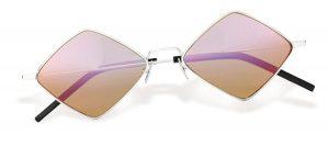 New Wave SL 302 Lisa palladium sunglasses ($450), Saint Laurent, Palm Beach
