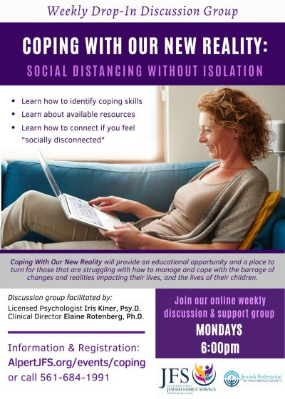 """Coping with Our New Reality: Social Distancing without Isolation"