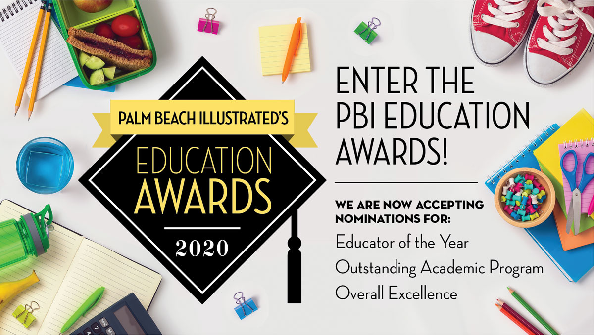 Palm Beach Illustrated Education Awards