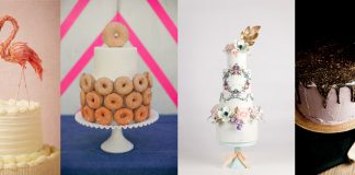 15 Bridal Shower Cakes via www.weddingsillustrated.net
