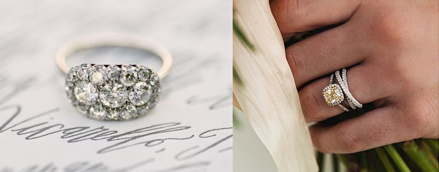 c91ca344e Eight Unusual Engagement Rings We Love - Weddings Illustrated